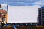 Leinwandfolie 10 x 7,5 Meter